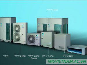 Hệ thống điều hòa trung tâm VRV Daikin nhỏ gọn thế hệ mới